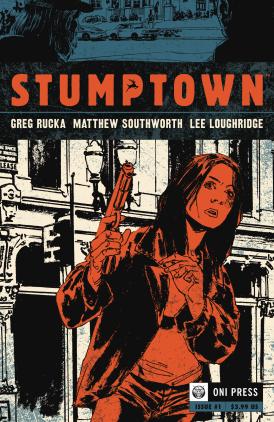 Stumptown #1 Cover