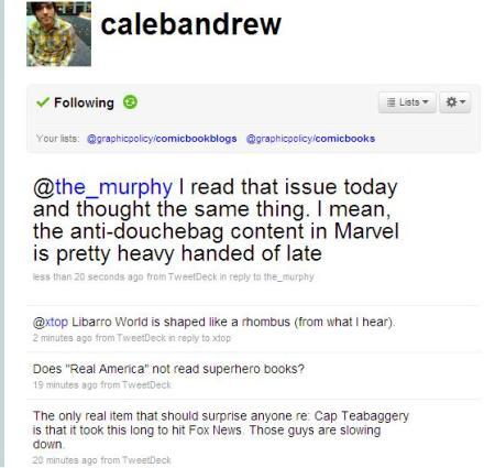 Caleb Andrew tweet
