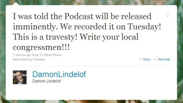 Damon Lindelof Encourages Political Action