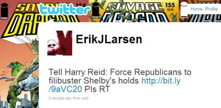 Erik Larsen Harry Reid Tweet