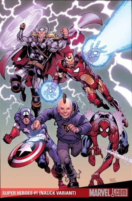 Superheroes Variant