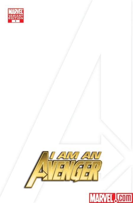 Avengers 1 blank variant