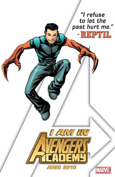 Reptil Avengers Academy