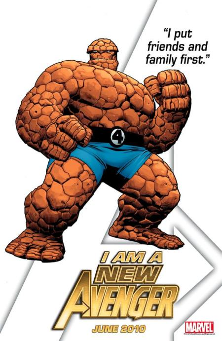 The Thing New Avenger