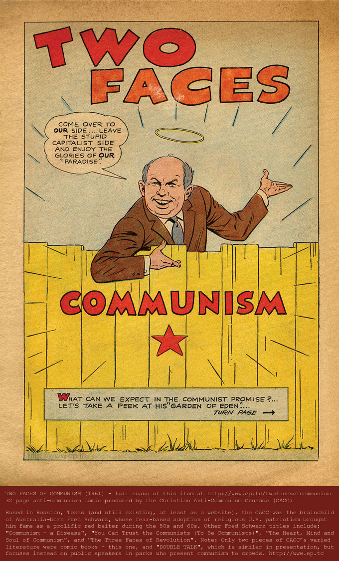 Friday Fun Christians Versus Communists Graphic Policy