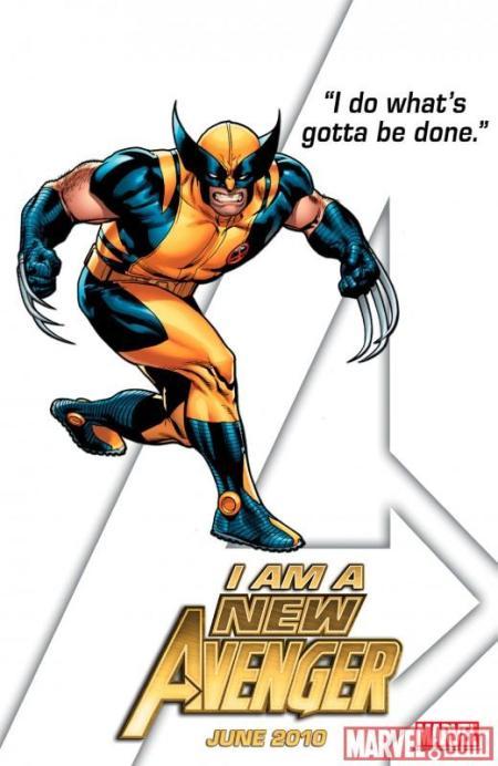 Wolverine New Avenger