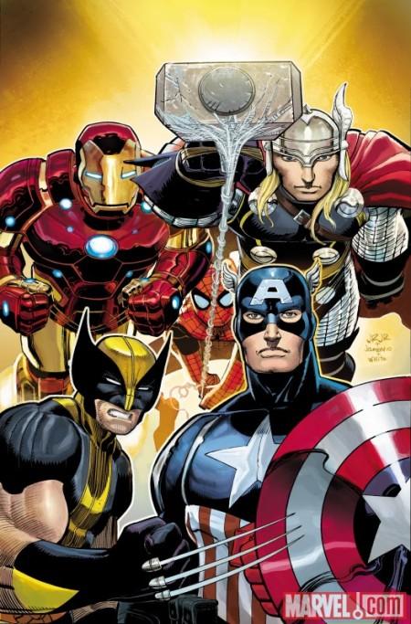 Avengers 01 Cover
