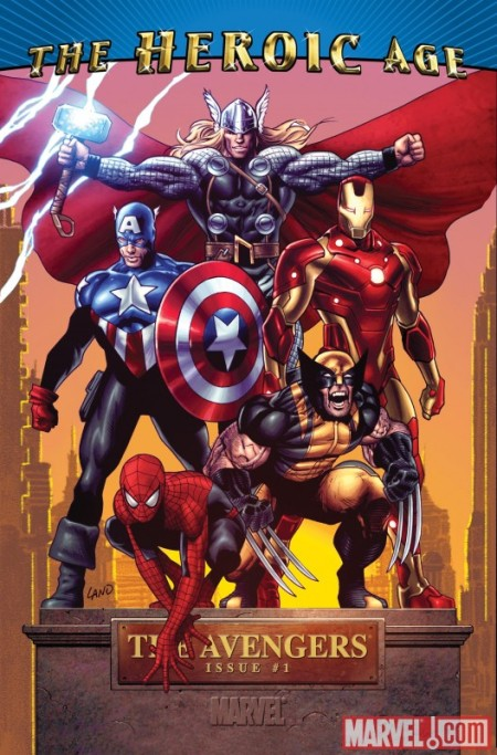Avengers 01 Heroic Age Cover