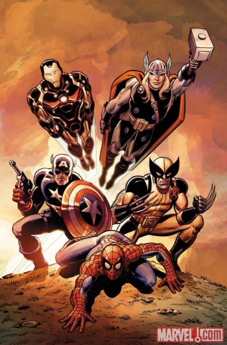 Avengers 01 JR Sr Cover