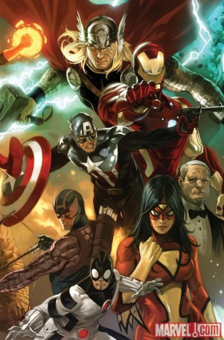 Avengers 01 Marko Cover
