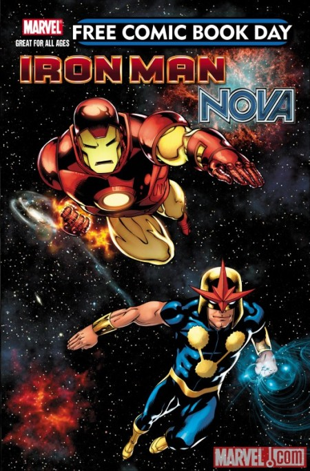 FCBD Iron Man Super Nova Cover