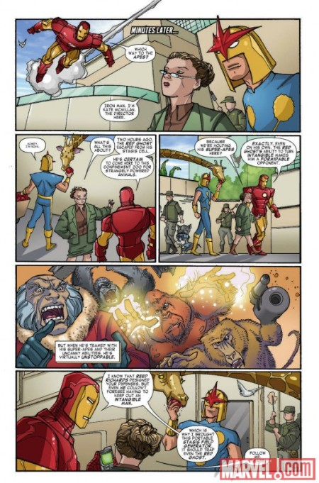 FCBD Iron Man Super Nova Preview2