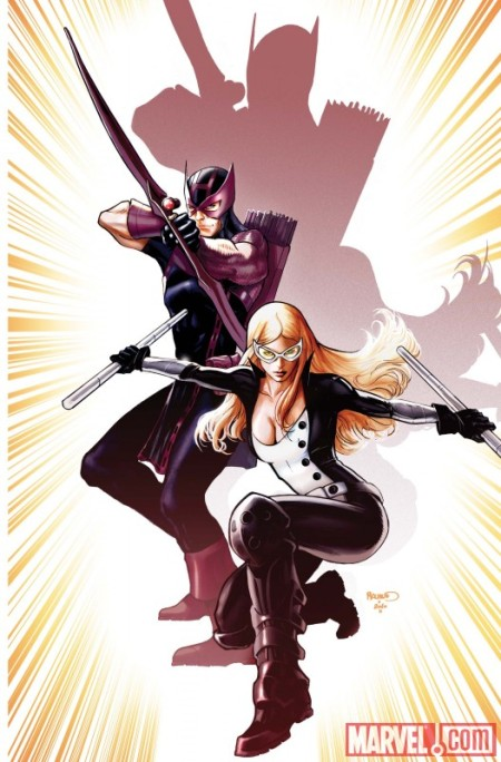 Hawkeye And Mockingbird 01 Cover