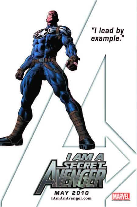 I am a Secret Avenger Steve Rogers
