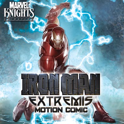 Iron Man Extremis iTunes Cover