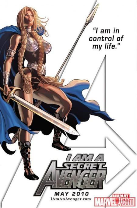 Secret Avenger Valkyrie