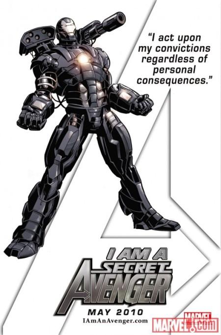 War Machine Secret Avenger
