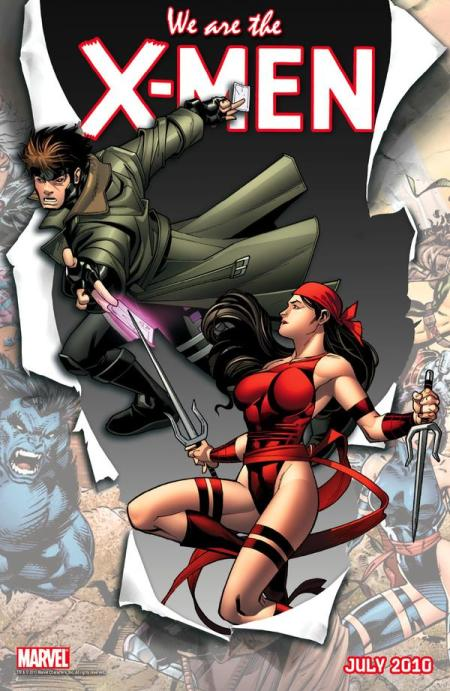 We Are X-Men Gambit and Elektra