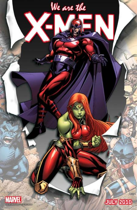 We Are X-Men Magneto and Savage She Hulk