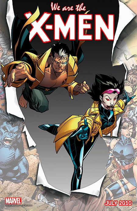We are X-Men Nate Grey and Jubliee