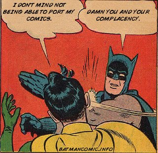 Batman and Robin on a Digital Standard