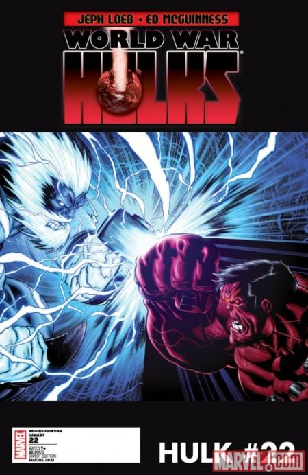 Hulk #22 Second Printing Variant