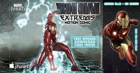 Iron Man Extremis iTunes Insert