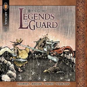 Mouse Guard Legends 001 Cover