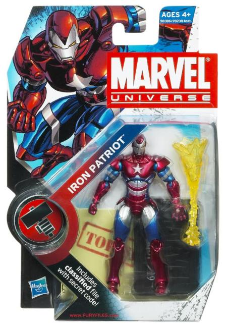 MVL Iron Patriot Packaging