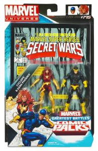 MVL Secret Wars #4 Dark Phoenix and Cyclops Packaging