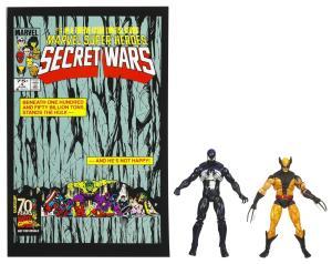 MVL Secret Wars #4 MVL Secret Wars Dark S-M and Wolverine