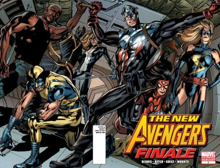 New Avengers Finale  1 2nd Printing Battleready