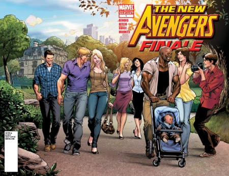 New Avengers Finale 1 2nd Print Unmasked