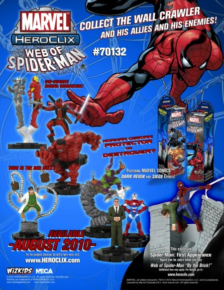 Heroclix Web of Spider-Man