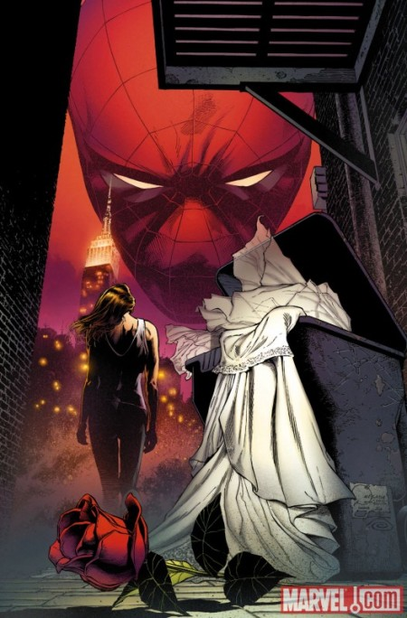 Amazing Spider-Man #638 Quesada Cover
