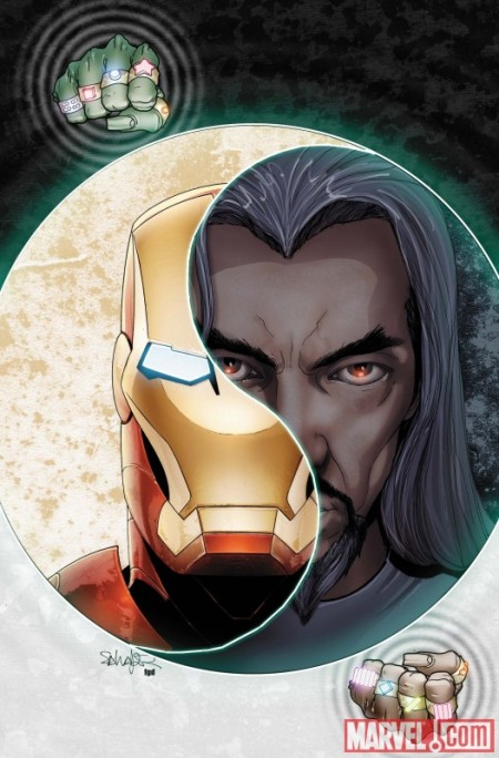 Invincible Iron Man Annual #1 Cover