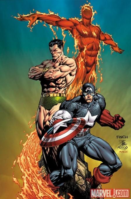 Steve Rogers Super Soldier #1 Finch Variant