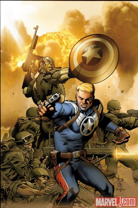 Steve Rogers Super Soldier #1 Pacheco Cover