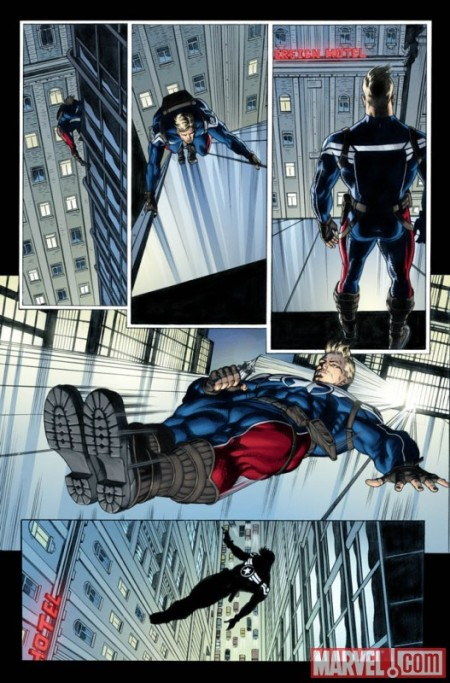 Steve Rogers Super Soldier #1 Preview 1