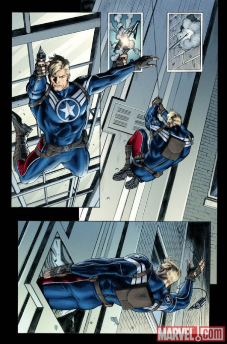 Steve Rogers Super Soldier #1 Preview 2