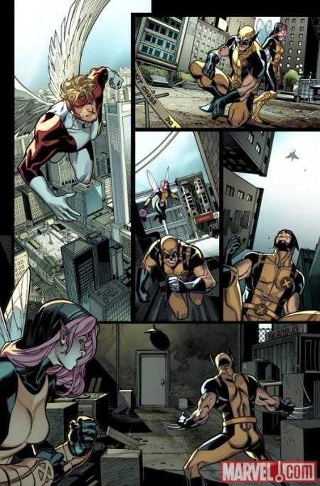 X-Men #1 Preview2