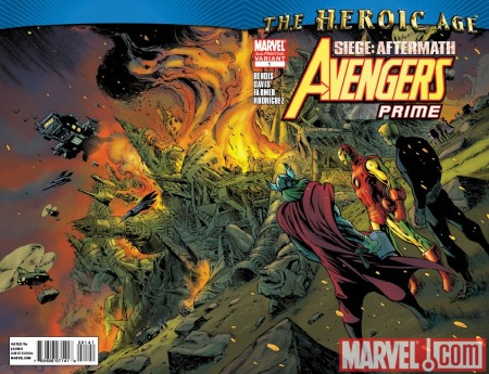 Avengers: Prime #1 2nd Printing