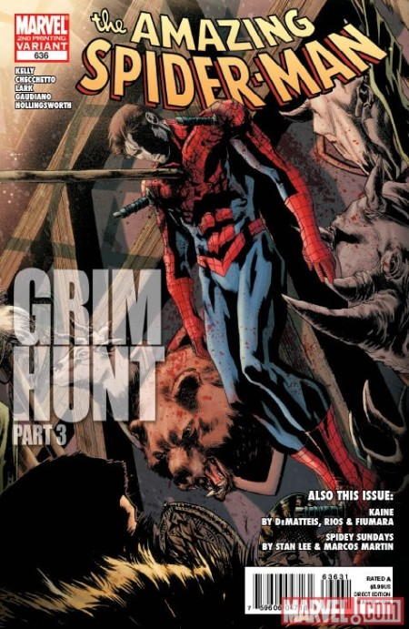 Amazing Spider-Man #636 2nd Printing