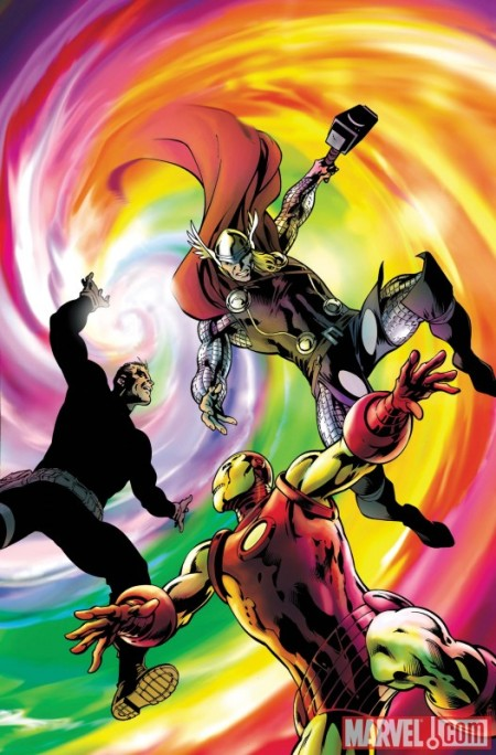 Avengers: Prime #2 Cover