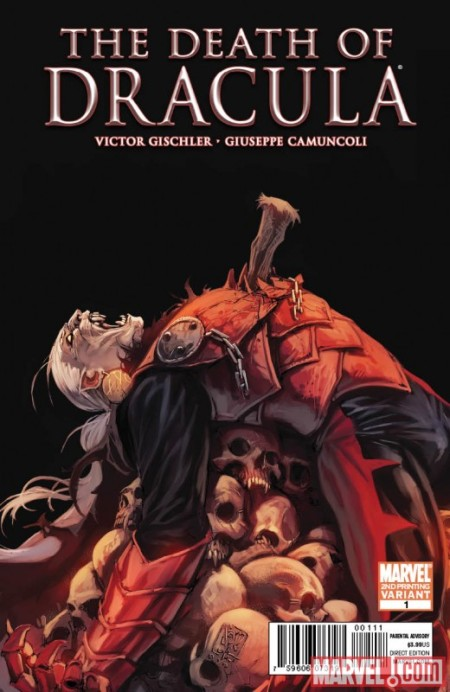 The Death of Dracula #1 2nd Printing