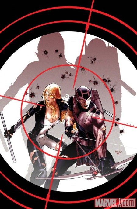Hawkeye & Mockingbird #3 COVER