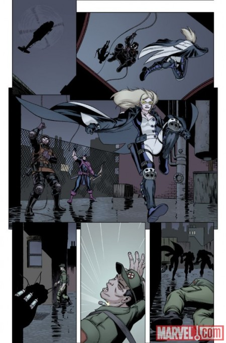 Hawkeye & Mockingbird #3 PREVIEW1