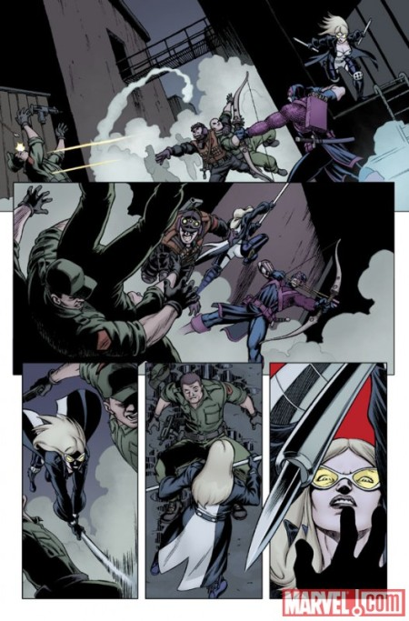 Hawkeye & Mockingbird #3 PREVIEW3