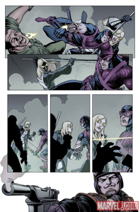 Hawkeye & Mockingbird #3 PREVIEW4
