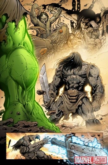 Incredible Hulk #611 PREVIEW1